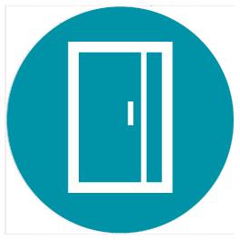 Portes d'entrée PVC, bois et alu